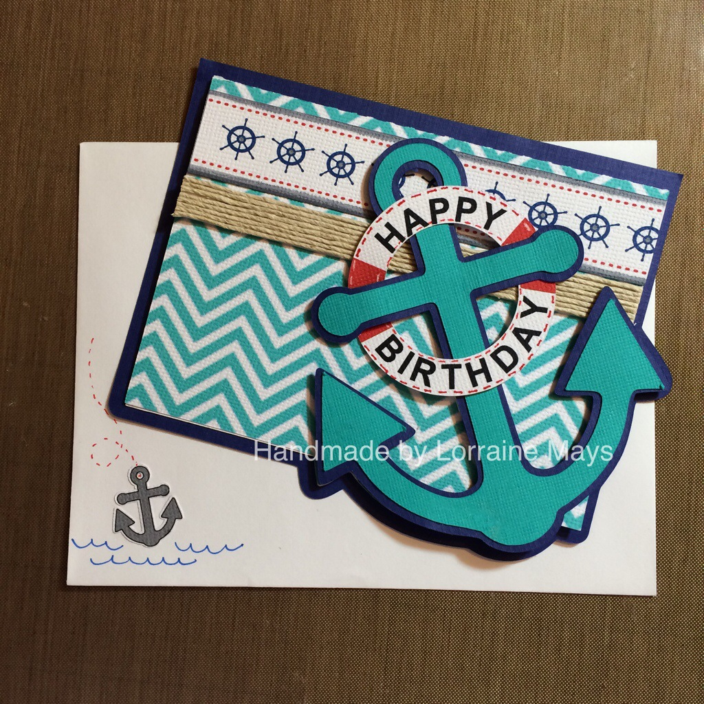 nautical birthday card tiny tidbitz
